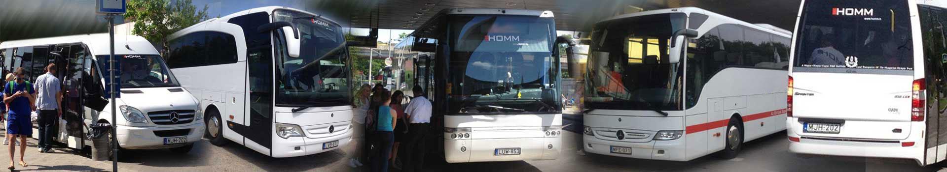 Homm – Személyszállítás