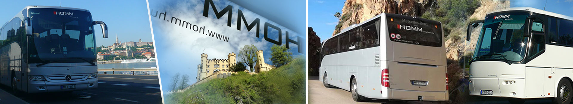 Homm – Személyszállítás, autóbusz bérlés