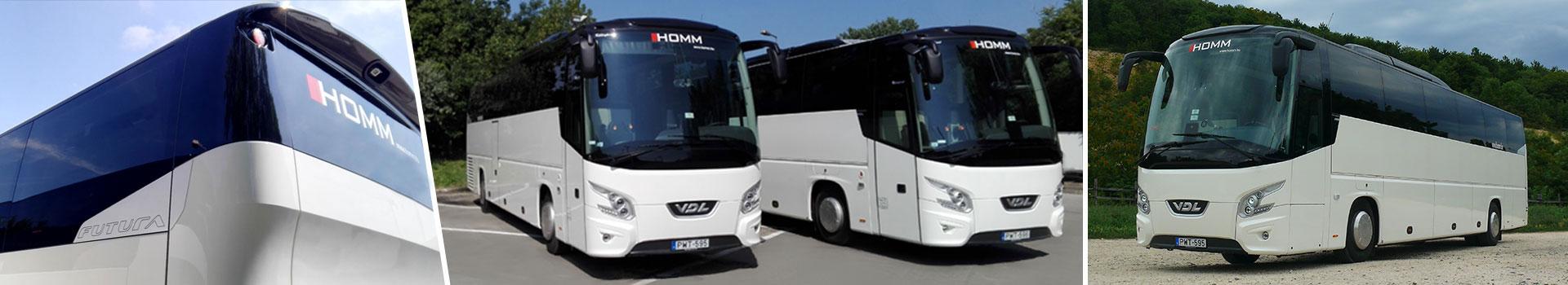 Homm - Személyszállítás, dolgozószállítás, autóbusz bérlés